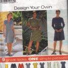 7243 Simplicity Design Your Own Dresses Size K