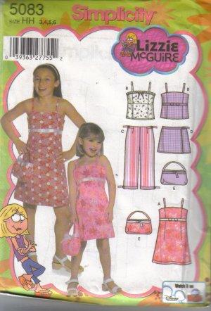 5083 Simplicity Lizzie McGuire Child & Girls