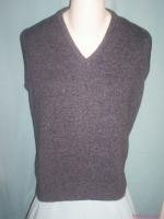 Men Van Heusen Gray Pull-Over Vest USA-Medium