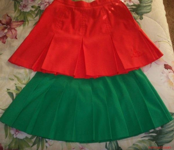 2 MISSES TENNIS SKIRTS-SIZE 10