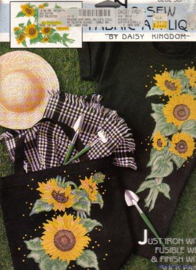 Daisy Kingdom No-Sew Applique - #6282 Sunflower