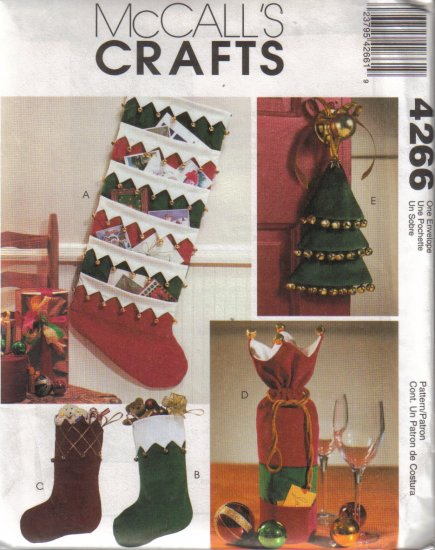 4266 McCalls Crafts-Jingle Bell Christmas