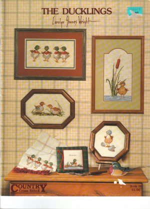 1986 Country Cross Stitch- The Ducklings
