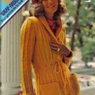 1973 Columbis-Minerva Wrap Around Bulkes-Sweaters