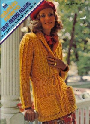 1973 Columbis-Minerva Wrap Around Bulkes-Sweaters