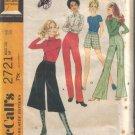Vintage 1971 McCalls 2721 Pants-Midi Pants & Shorts