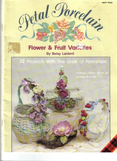 1989 Petal Porcelain-Fruit & Fruit  Varities