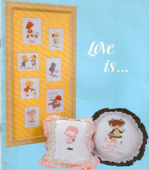 Love Is From Busy Hands Needlework Designs Book 4