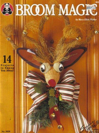 1994 Broom Magic-Decorate  Straw Brooms