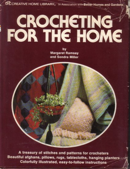 1977 Vintage Crocheting For The Home-Hardbound