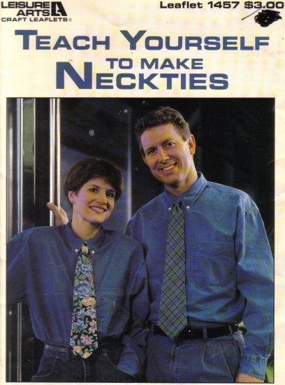1993 Teach Yourself To Make Neckties
