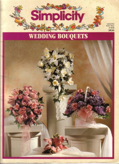 1993 Simplicity Wedding Bouquets