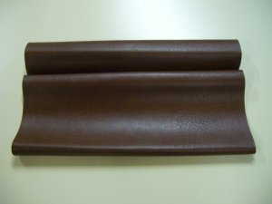 "Leatherette Brown/Textured/New Leatherette/Leather Craft/ 25 1/2"" x 17"" ( 650mm x 430mm )"