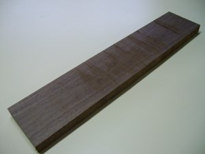 "Black Walnut Blank/Walnut Board - 23 5/8"" x 4 3/4"" x 1 1/16"" ( 600m x 122mm x 27mm )"