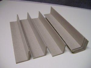 """Corrugated Cardboard Corner Protectors -12"""" x 1 5/8"""" x 1 5/8"""" x 1/4"""" ( 300mm x 40mm x 40mm x 6mm )"""