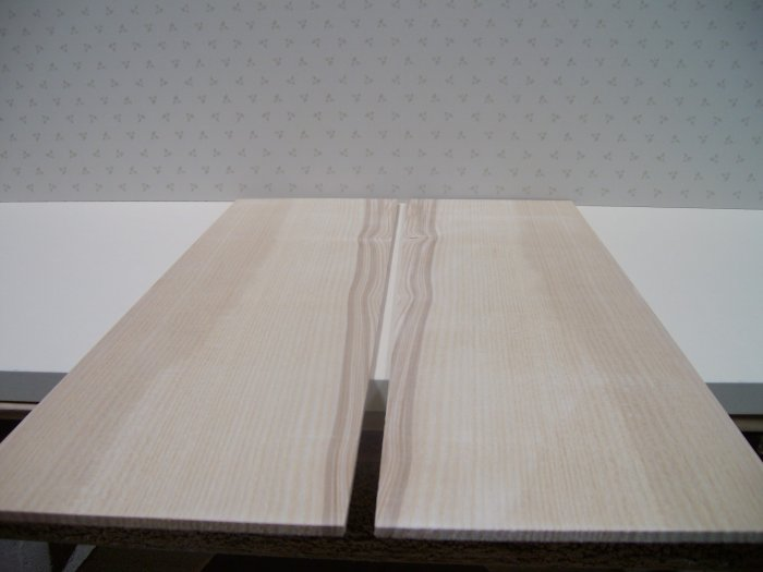 "Ash Wood/Crafts/Quarter Sawn/Blank/Bookmatched Wood-19 1/2"" x 6"" x 3/16"" ( 495mm x 150mm x 5mm )"