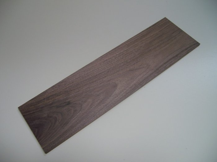 """Walnut Board/Crafts/Blank/Walnut Wood-18 3/8"""" x 5 1/8"""" x 1/4"""" ( 465mm x 130mm x 6mm )"""