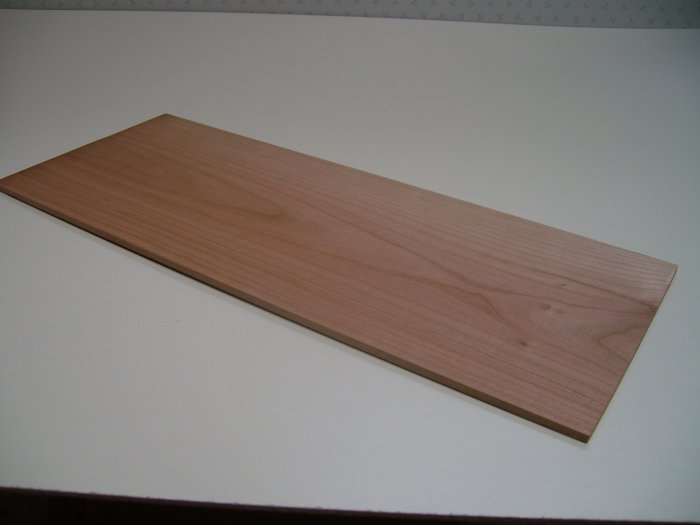 """Cherry Wood Board/Crafts/Blank-17 1/2"""" x 6 7/8"""" x 3/16"""" ( 445mm x 175mm x 5mm )"""