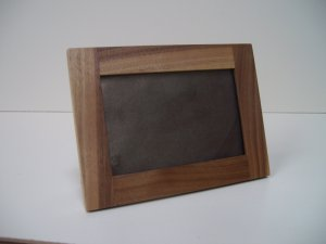 "Picture Frames Walnut /Finished/ Rebated for Glass / 6"" x 4"" Photo size  ( 153mm x 102mm )"