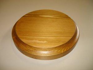 "Wooden Base-Round Base-Trophy Base-Pine Base- 6"" x 15/16"" (150mm x 24mm )"