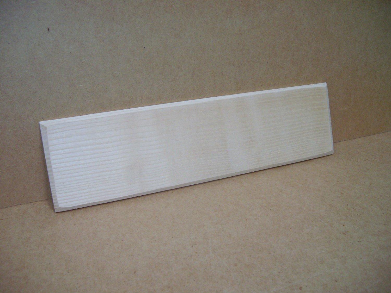 "Ash Signs-House Sign-Ash Name Board-15"" x 4"" x 3/8"" (380mm x 102mm x 10mm)"