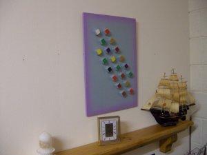 Abstract Art-Modern Art-High Relief Art-Block Art