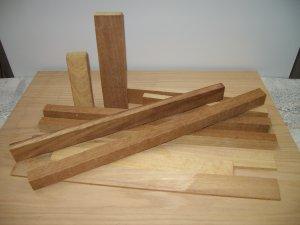 Craft / Hobby Iroko Wood Pack / Wood Pieces / Selection of Iroko Wood Pieces