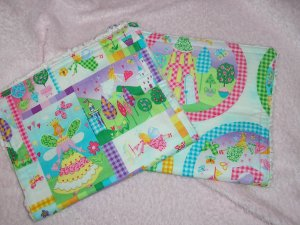 Burp Set ~ fairy princess design