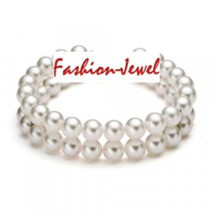 2 Row Pearl Bracelet Bridal Jewelry