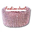8 Row Crystal Rhinestones Bracelet