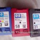 HP Empty Ink Cartridges