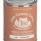Olde Century Colors Acrylic Latex Paint Pint - 2002 Confederate Red