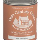 Confederate Red 2002 Olde Century Colors Acrylic Latex Paint Quart