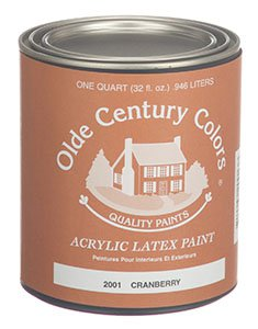 Quaker Green 2006 Olde Century Colors Acrylic Latex Paint Quart