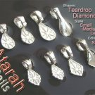 100 Small/Teardrop Shaped/Atarah Bails