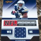 2011 Absolute RPM #35 Vincent Brown Jersey ( 2 Avbl )