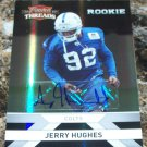 2010 Panini Threads Rookie #243 Jerry Hughes Autograph 380/499