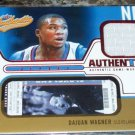 2003-04 Fleer Authentix #JADW Dajuan Wagner Game Worn Jersey