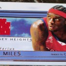2002-03 Flair jersey Heights JH-DM Darius Miles Game jersey