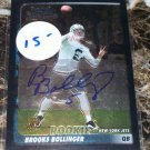2003 Bowman Chrome Brooks Bollinger Autograph