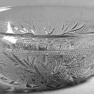 ANCHOR HOCKING CRYSTAL SANDWICH FRUIT BOWL