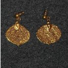 ROCKY  MOUNTAIN ASPEN LEAVE  EARRINGS.