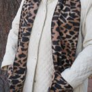 Leopard design Handwarmer Pocket Winter Scarf Design Fleece Neck 70 x 8 S2009715
