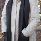 GREY Handwarmer Pocket Winter Scarf Design Fleece Neck 70 x 9 S2009723