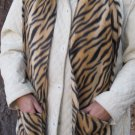 Tiger Design Fleece Handwarmer Pocket Winter Scarf Design Neck 71 x 9 S2009739