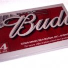 Recycled Upcycled Journal Notebook from BUDWEISER BEER Box Handmade in the USA 7.5 x 5 inch #bw01