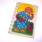 Recycled Upcycled Journal Notebook from BERENSTAIN BEARS CARDS Handmade in the USA #2010018