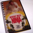 Journal Notebook Recycled Upcycled from BEVERLY HILLS NINJA VIDEO Box Handmade in the USA #2010022