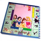 Journal Notebook Recycled Upcycled from DISNEY PRINCESS MONOPOLY GAME BOARD Made in USA #2010029