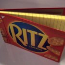 Journal LINED YELLOW PAD covered with Recycled RITZ BOX Made in USA #2010058